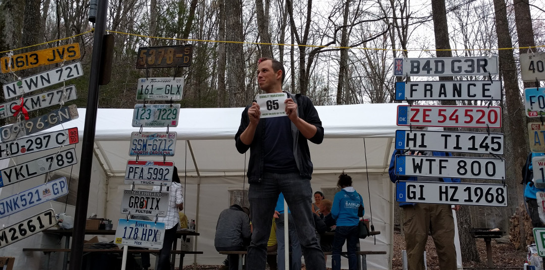 My Greatest Failure: Barkley Marathons 2016